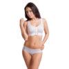 White Lipoelastic Post-operative compression bra