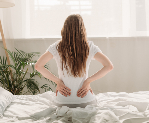 Are My Large Breasts Causing Me Back Pain?